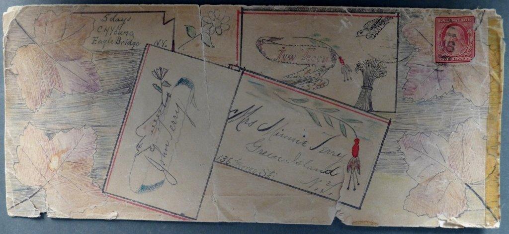 American Calligraphy Envelope