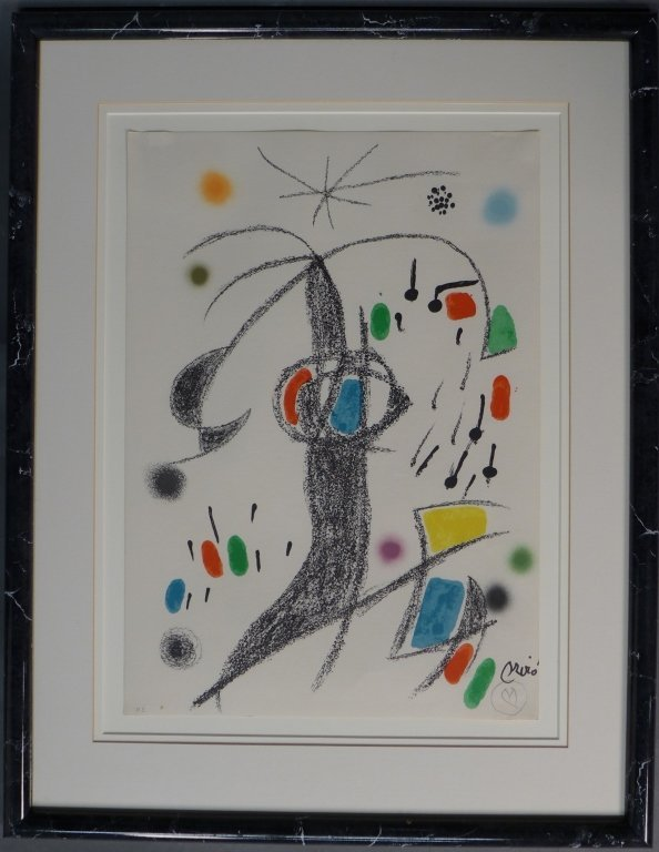 Joan Miro, Spain (1893- 1983)