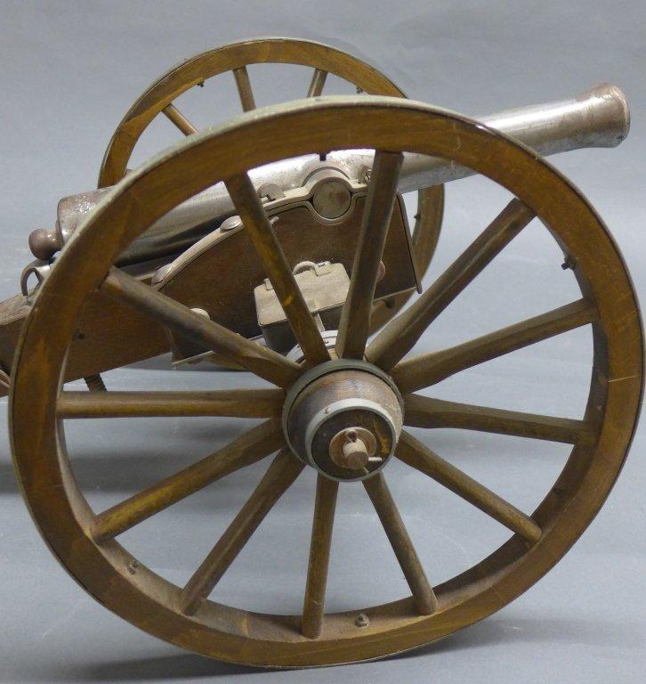 Civil War Black Powder Signal Salute Cannon - 10