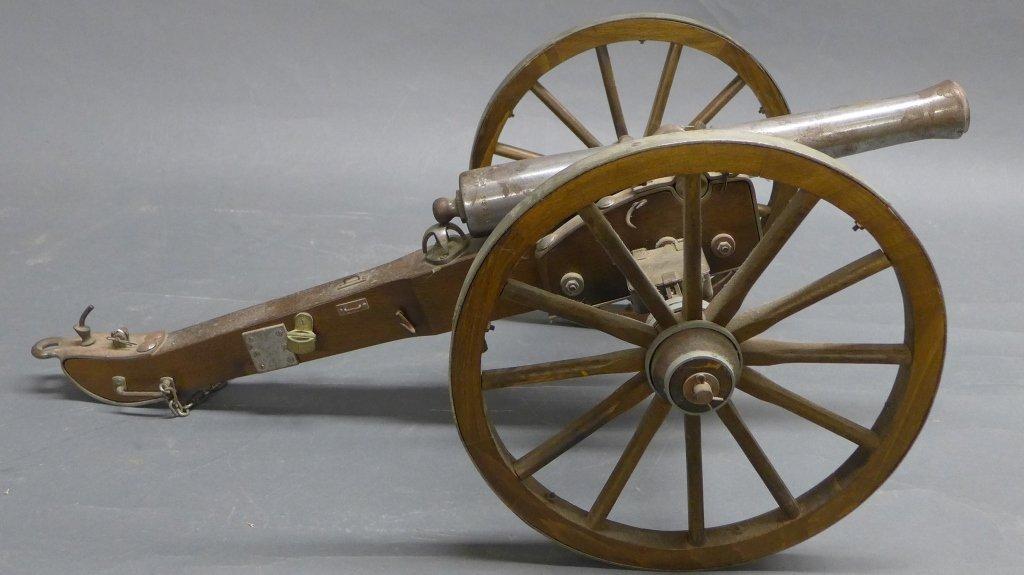 Civil War Black Powder Signal Salute Cannon - 2
