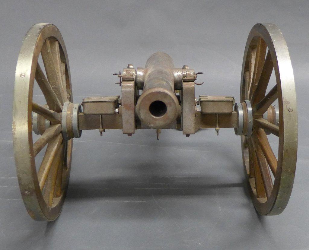 Civil War Black Powder Signal Salute Cannon - 3