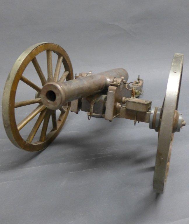 Civil War Black Powder Signal Salute Cannon - 4