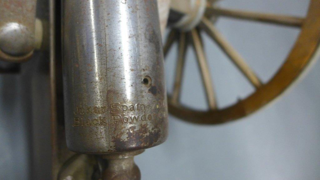Civil War Black Powder Signal Salute Cannon - 5