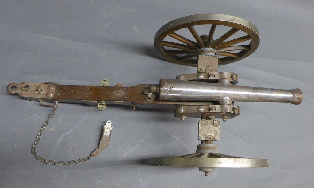Civil War Black Powder Signal Salute Cannon - 8