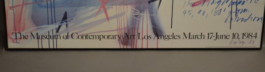 Michael Heizer Geometric Art Exhibition Poster - 3