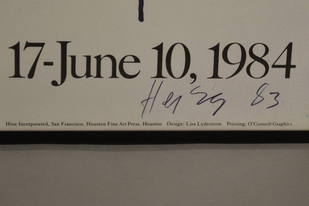 Michael Heizer Geometric Art Exhibition Poster - 4