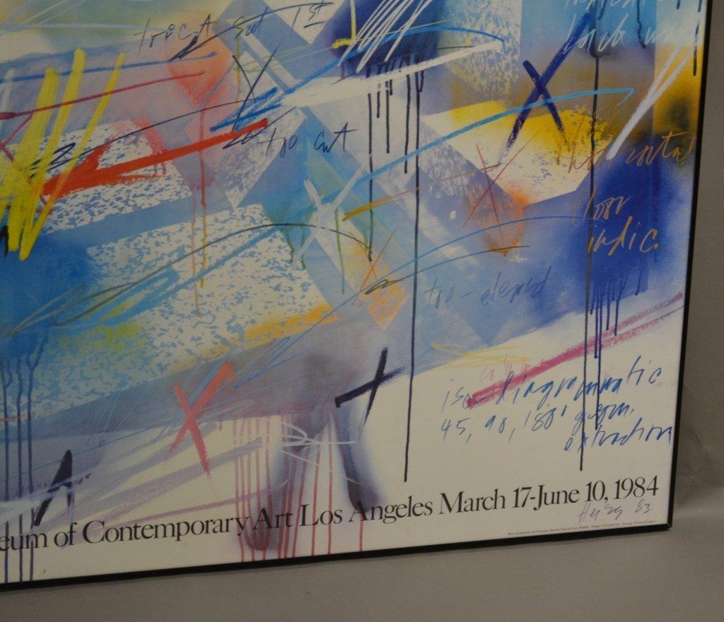 Michael Heizer Geometric Art Exhibition Poster - 5