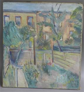 Unsigned O/C, Possibly Hans Purrmann (1880-1966)