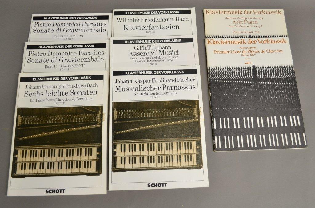 Klaviermusik Der Vorklassik Sheet Music