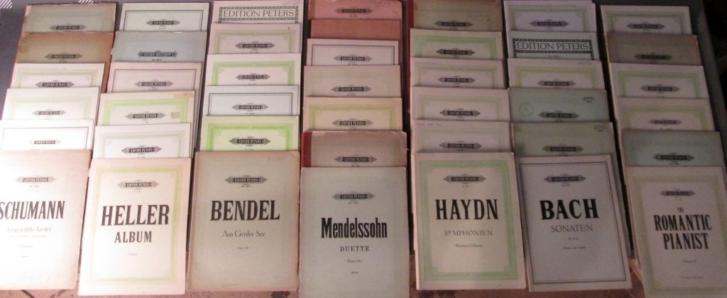 Over 75 Volumes of Edition Peters