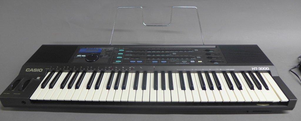 Casio HT 3000 Keyboard