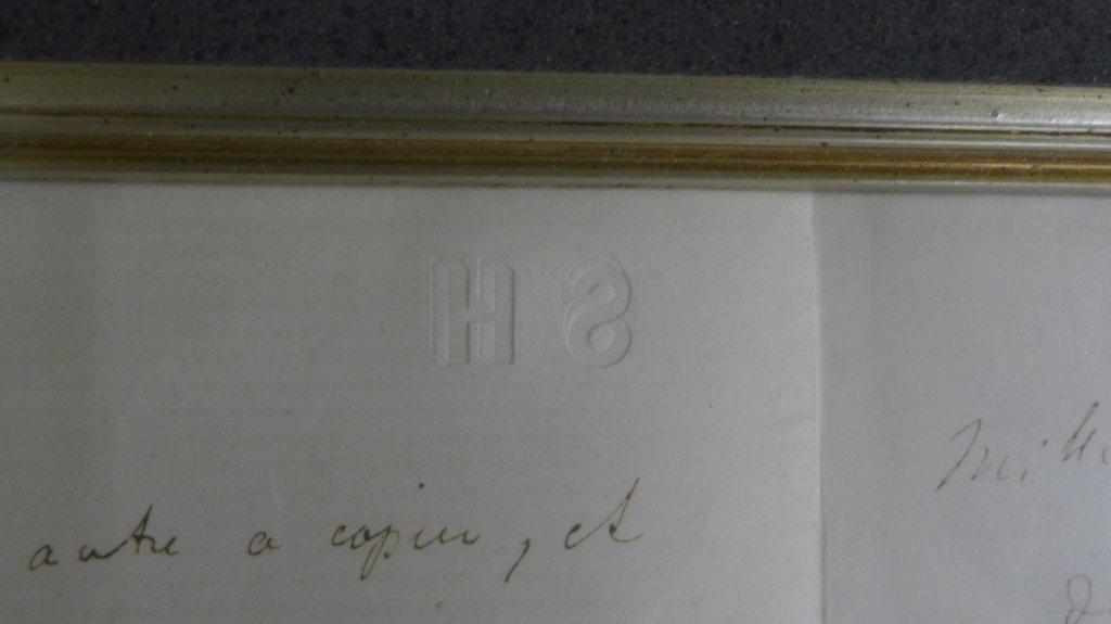 Framed Letter by Composer S. Heller - 4