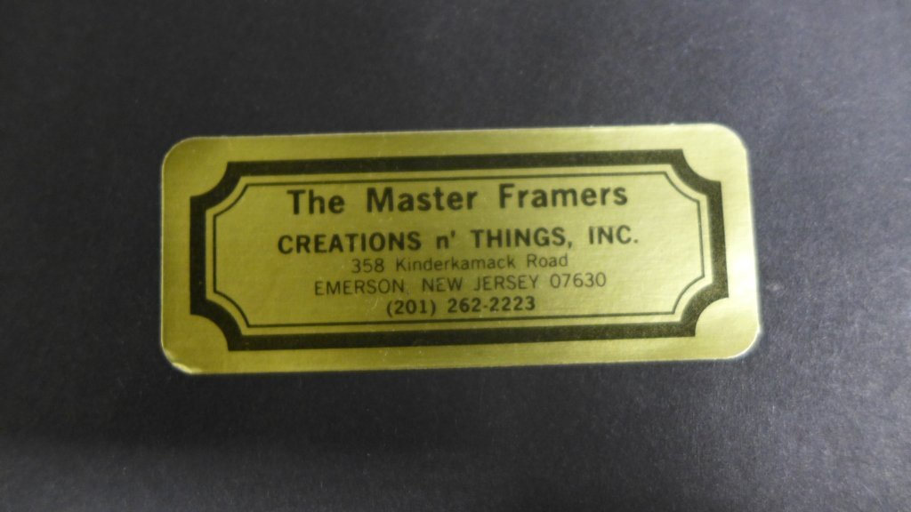 Framed Letter by Composer S. Heller - 9