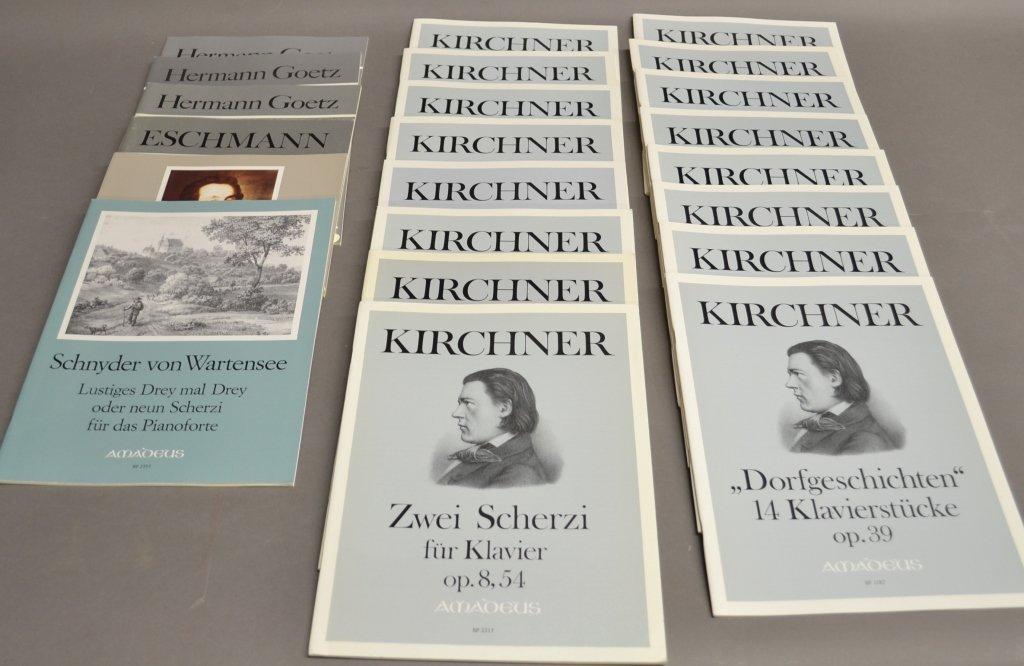 Theodor Kirchner Sheet Music, AMADEUS