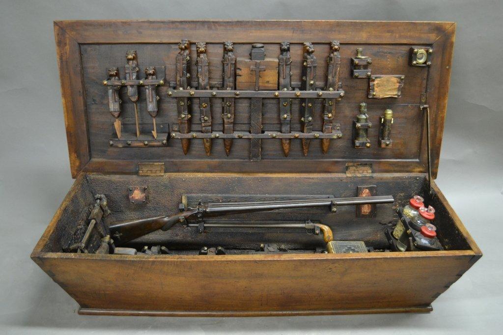 Vampire Hunting Kit in Coffin Box - 10