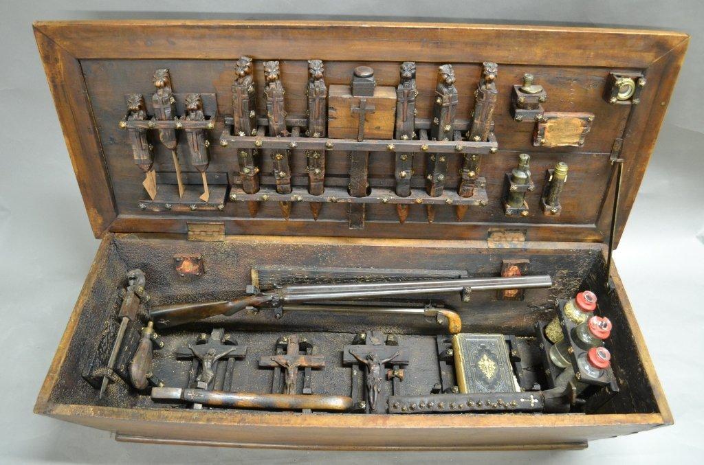 Vampire Hunting Kit In Coffin Box