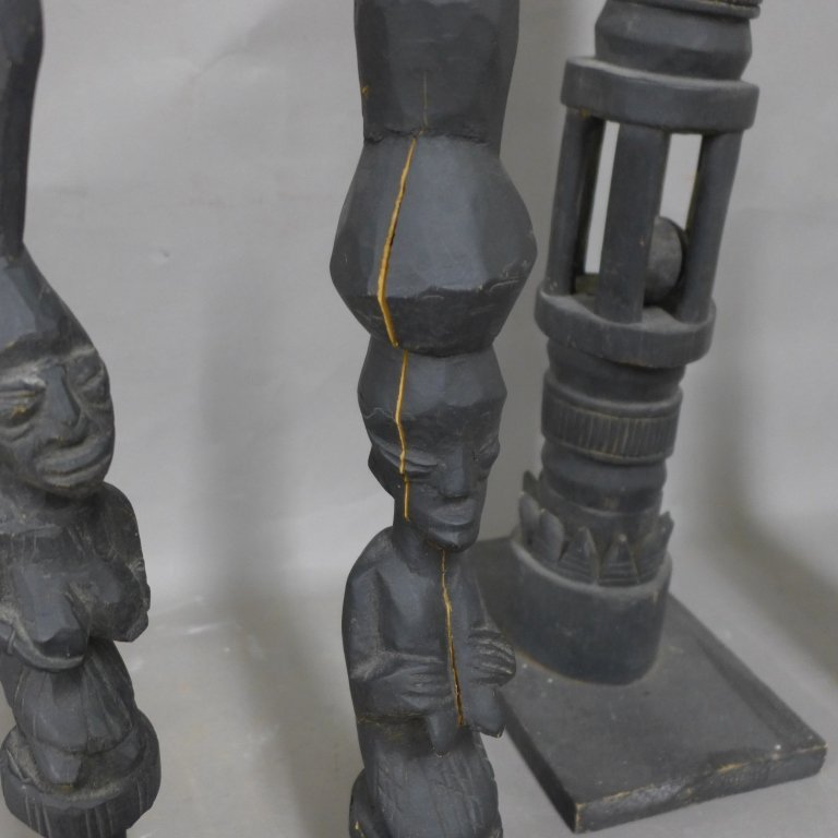 Early African Tribal Statues - 3