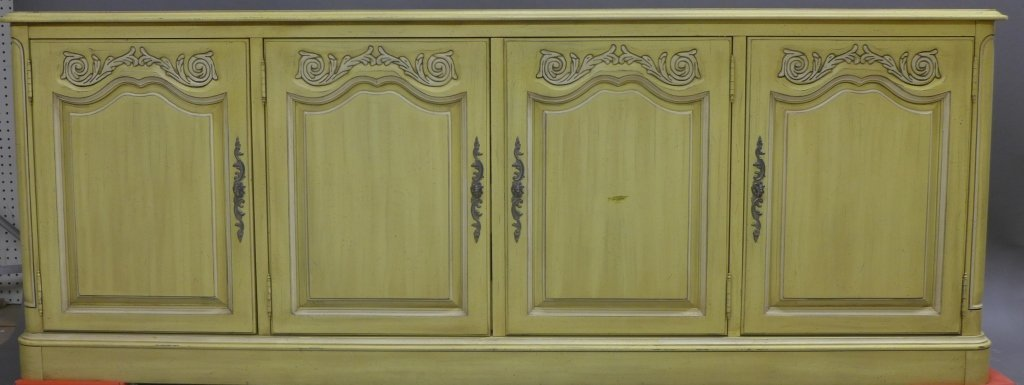 Painted French Country Cottage Buffet