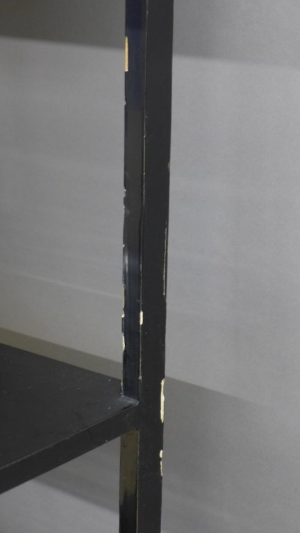 Korean Black Lacquer and Mother of Pearl Cabinet - 9