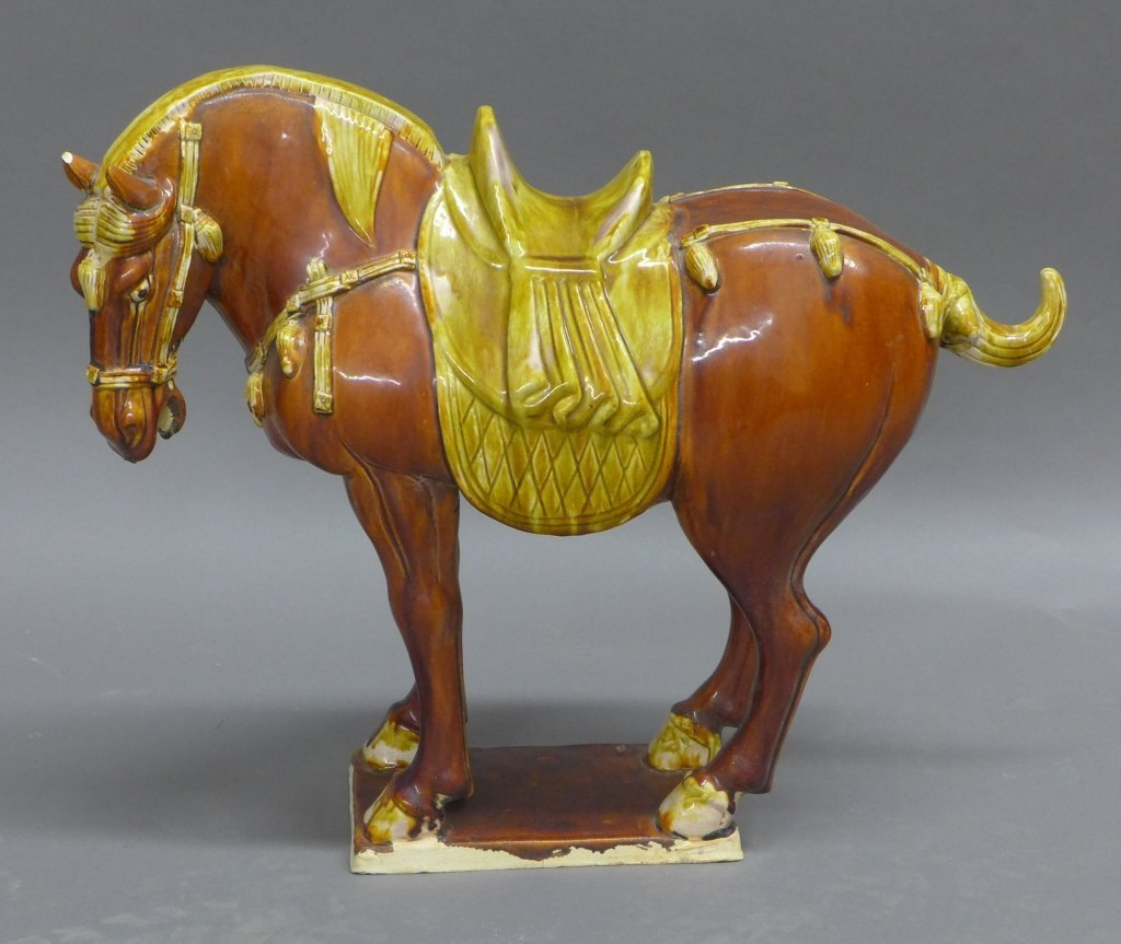 Pottery Tang Horse