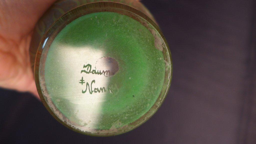 """Daum Nancy """"Tulip"""" Vase - 4"""