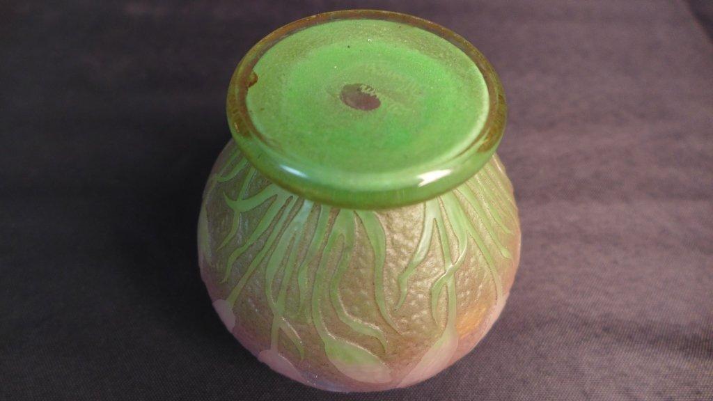 """Daum Nancy """"Tulip"""" Vase - 8"""