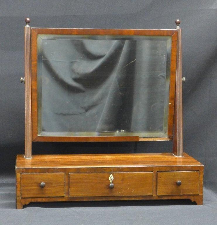 Antique Shaving Mirror Stand