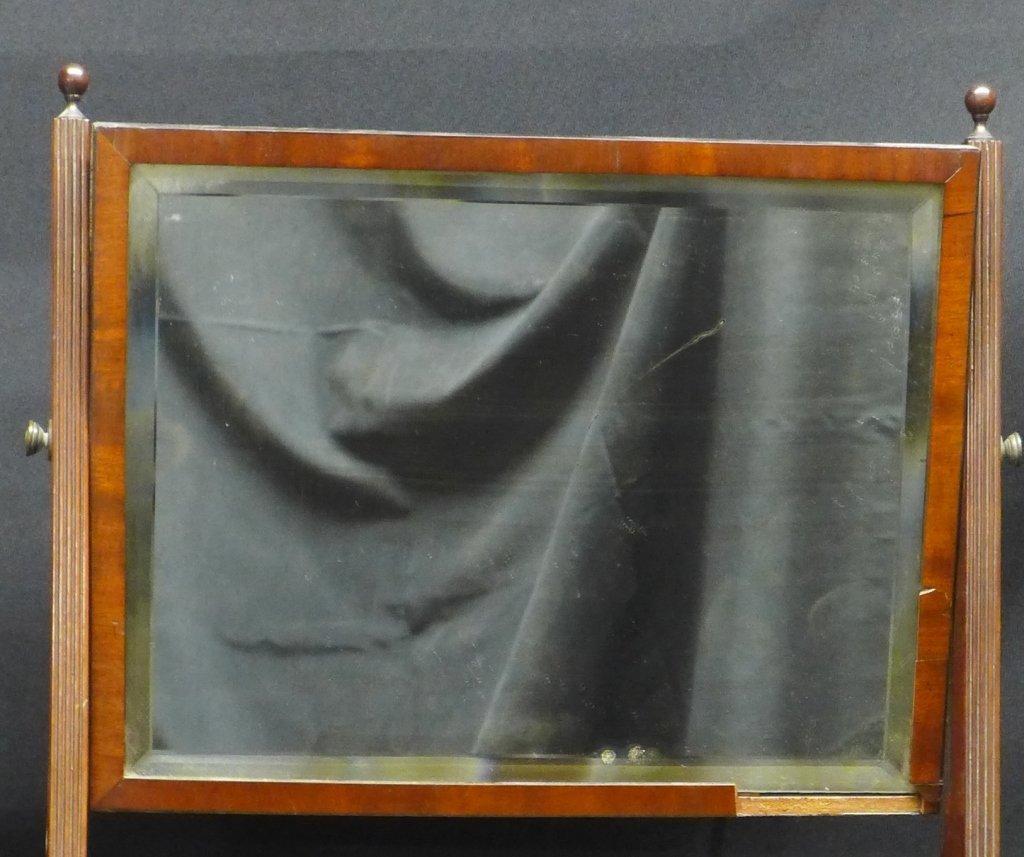 Antique Shaving Mirror Stand - 2