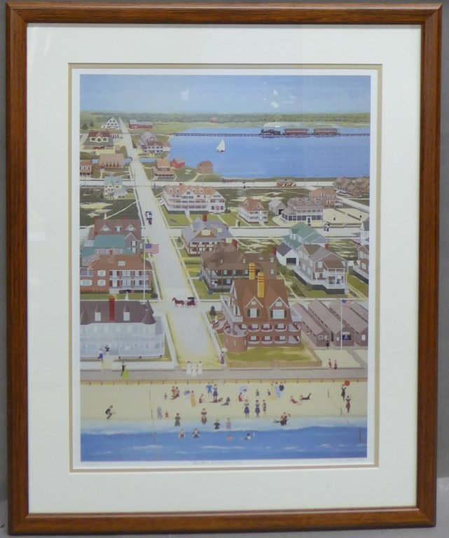 """Another Wonderful Day"" Signed Framed Print"