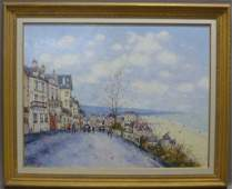 Signed French Landscape Painting