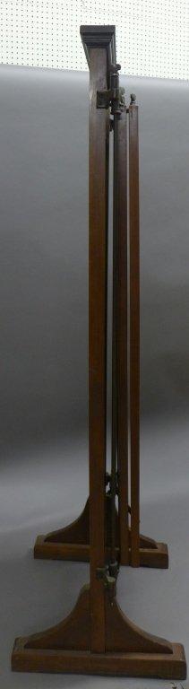 Antique Tri Fold Tailor's Mirror - 8