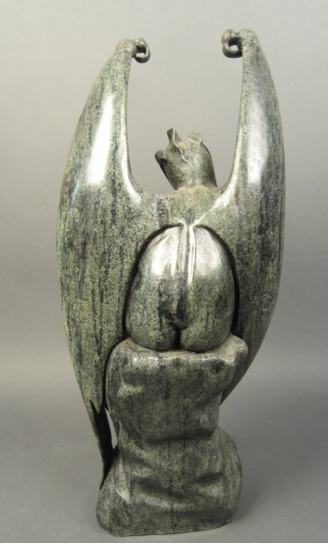 Marble Statue of Lucifer Demon - 3