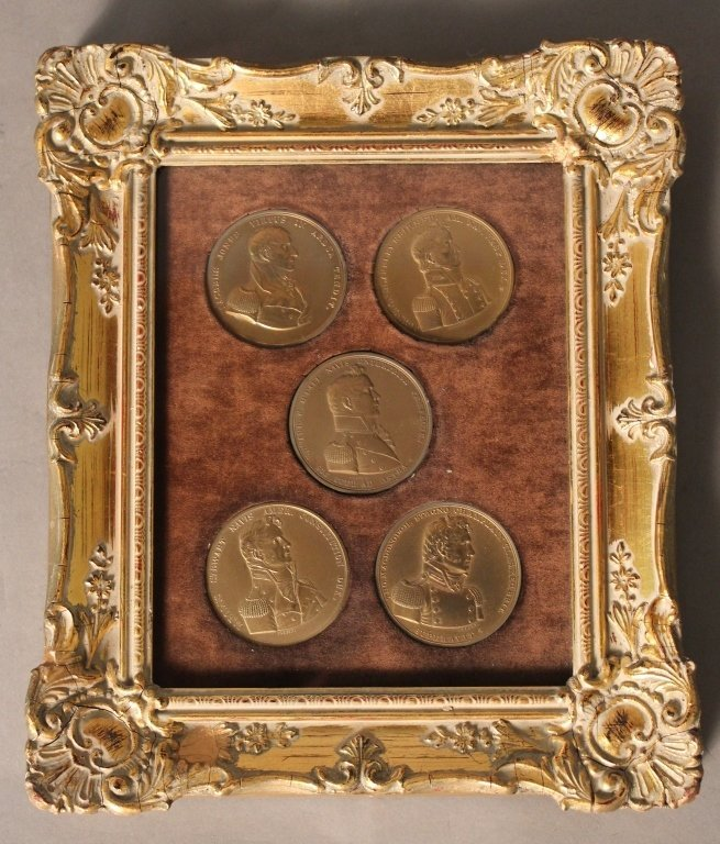 Collection of Bronze Commemorative Medals