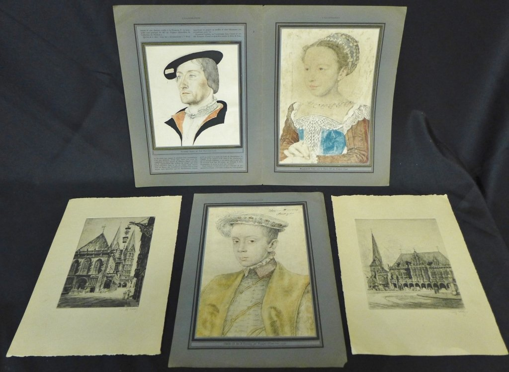 Collection of Antique Prints and Portraits