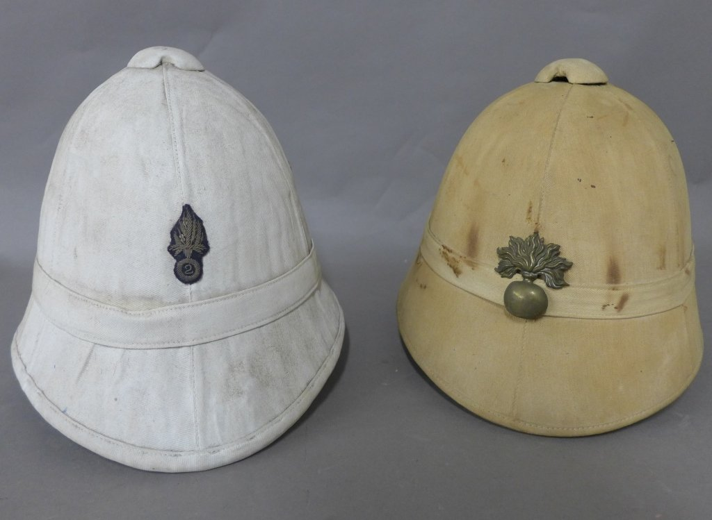 French Colonial Pith Helmet or Salacot, circa 1900