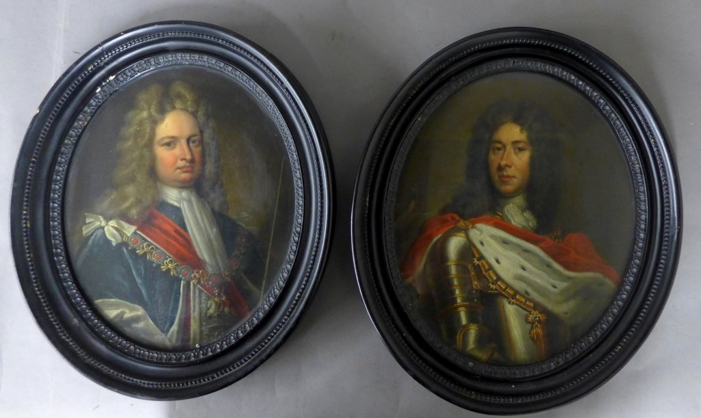 Two 19th Century Figural Oil Paintings
