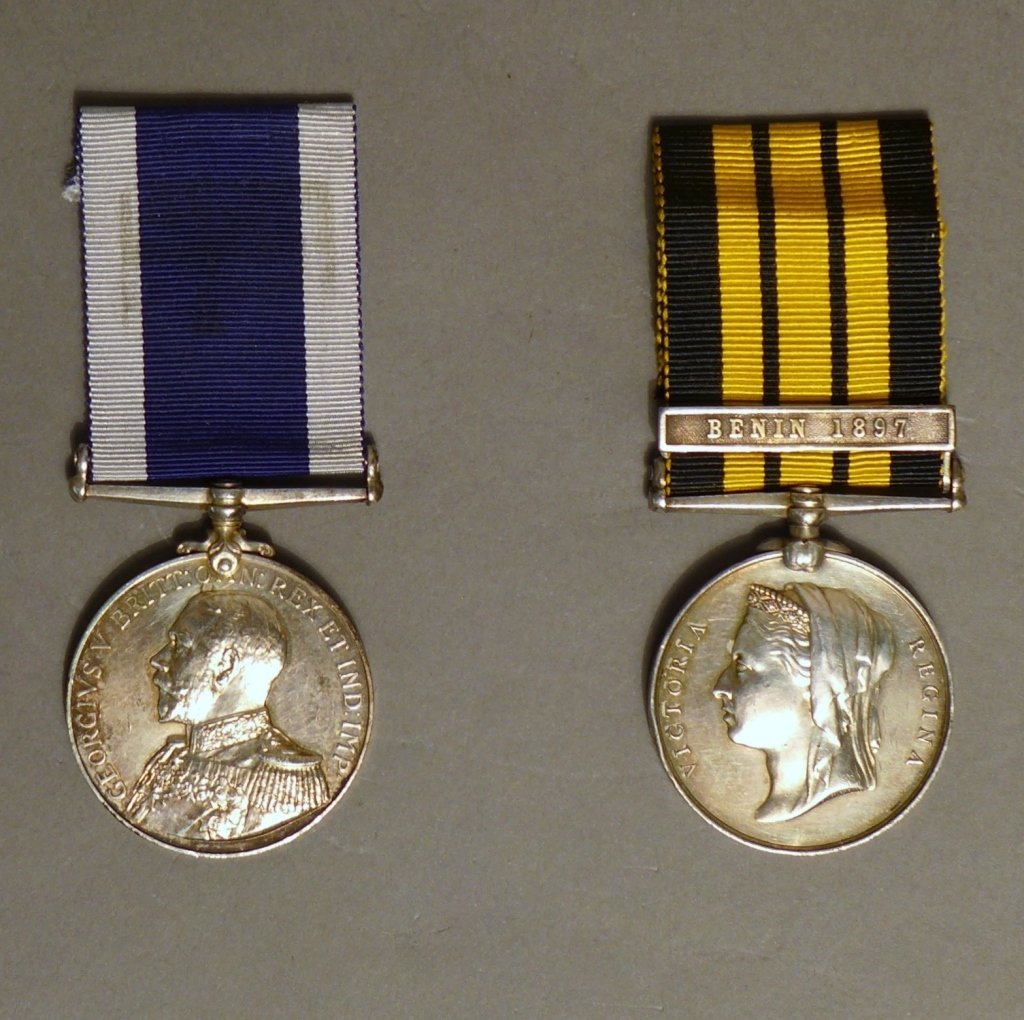 Two Royal Navy Medals