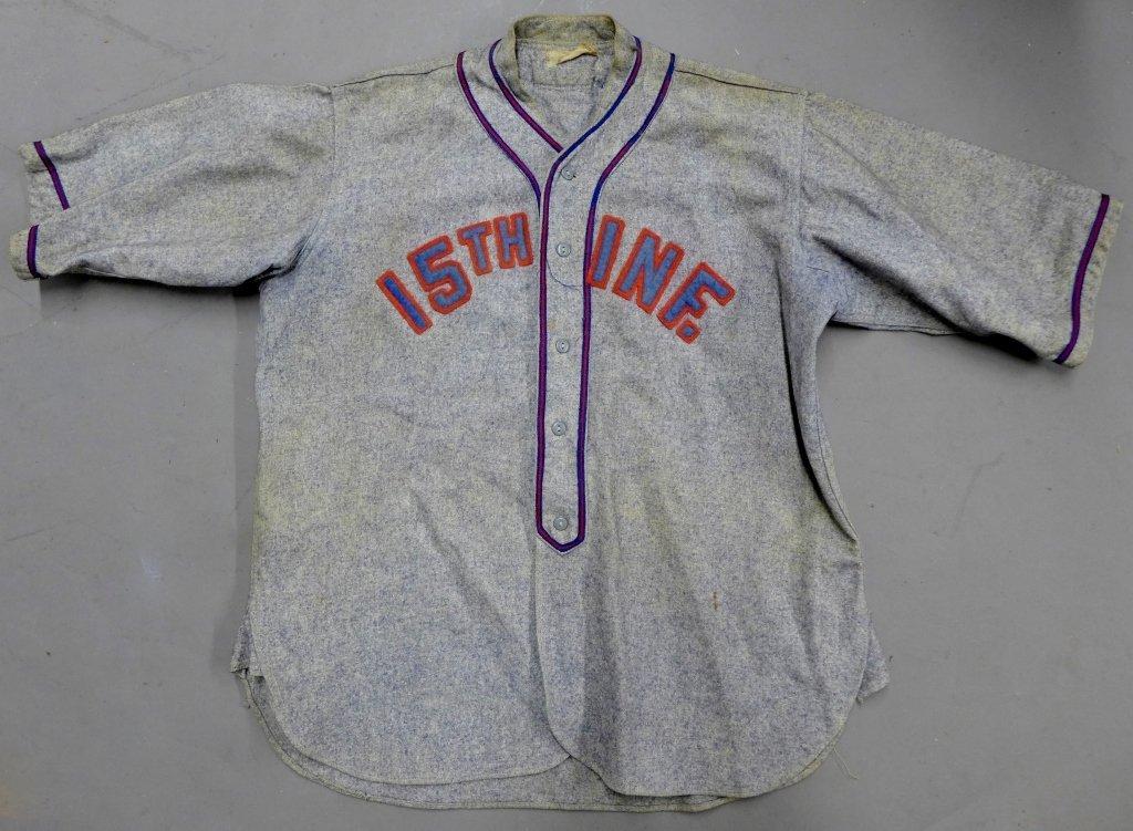 15th Infantry Regiment China Baseball Jersey