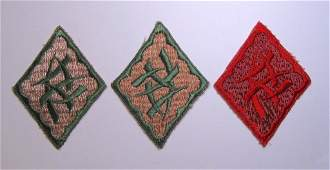 Pair 15th Infantry Chinese Language School Patches