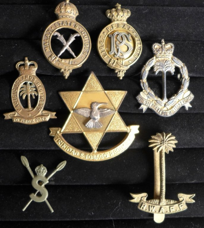Collection of British Colony Badges