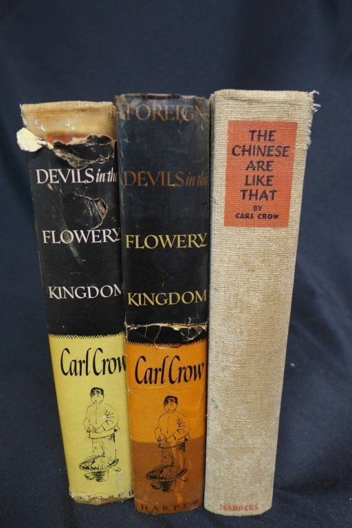 Three Books by Author Carl Crow