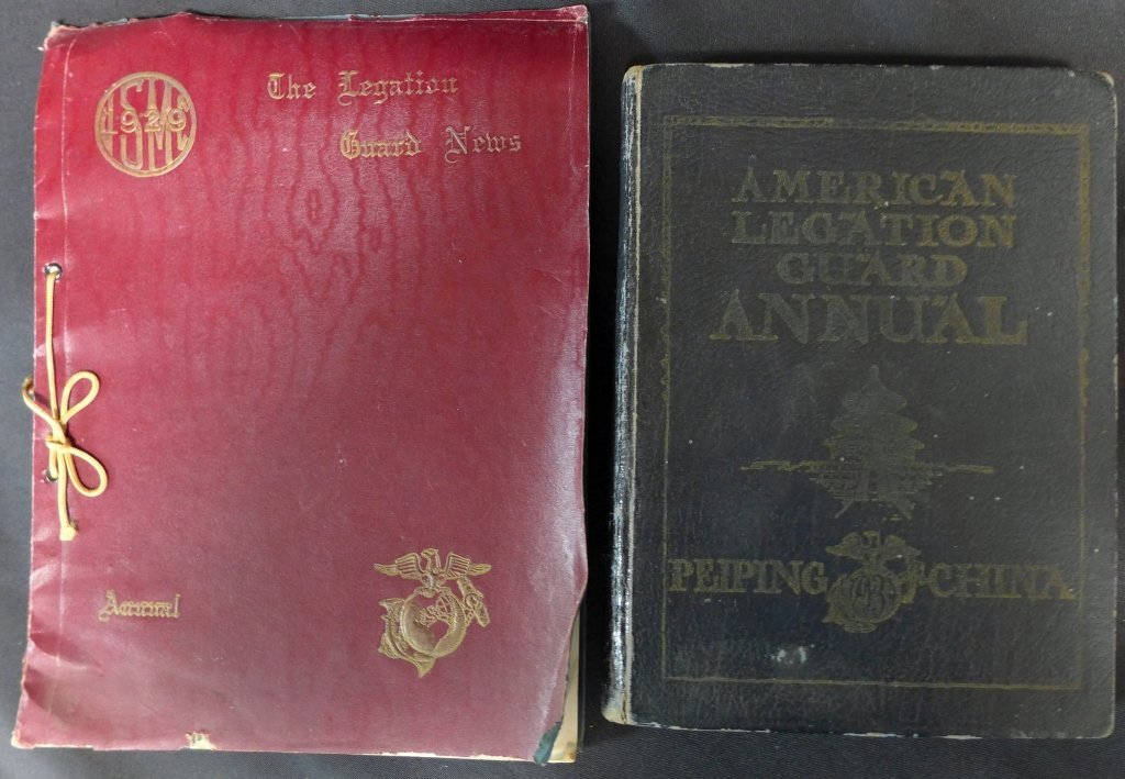 2 American Legation Guard Annuals, China
