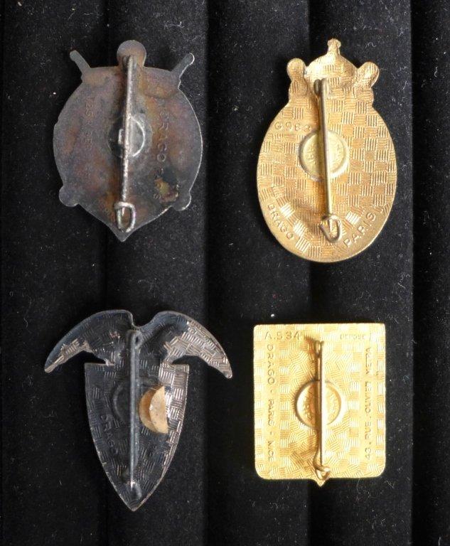 Assorted Foreign Legion Insignia Badges - 2
