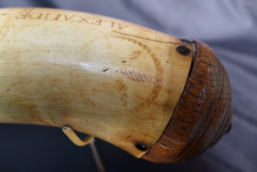 The Alexander Hamilton Powder Horn, 1773 - 5