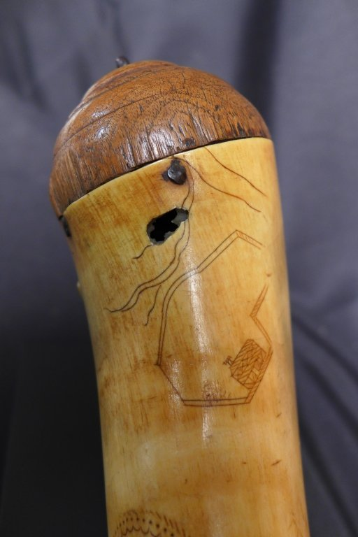 The Alexander Hamilton Powder Horn, 1773 - 7