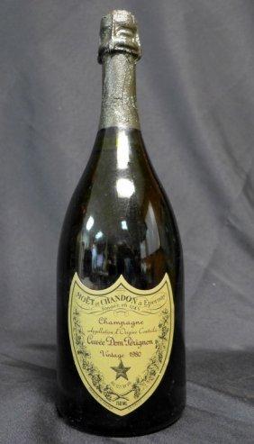 Dom Perignon 1980 Champagne