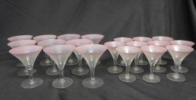 Collection Of Glassware, 20 Cocktail Glasses
