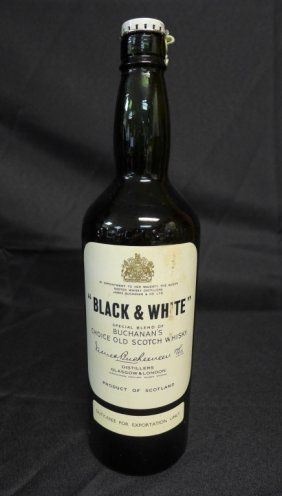 """black & White"" Scotch Whisky"