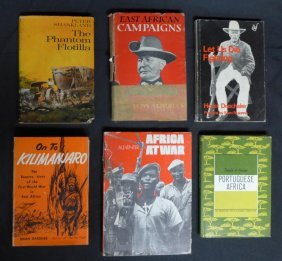 Assorted Books On The Military In Africa