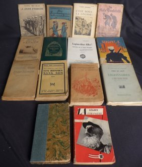 Vintage French Foreign Legion Books